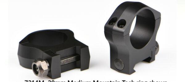 Warne 7221M 34mm Medium Scope Rings