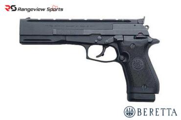 Beretta 87 Target .22LR Semi-Auto Pistol Black Rangeviewsports Canada