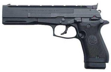 Beretta 87 Target .22LR Semi-Auto Pistol Black lift- rangeview sports canada