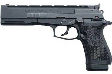 Beretta 87 Target .22LR Semi-Auto Pistol Black lift- rangeview sports canada