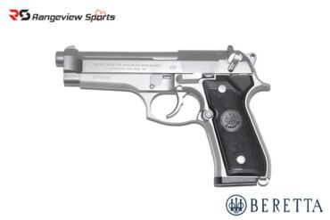 Beretta 92FS 9x19mm LUGER 4.9″ Barrel Inox Rangeviewsports Canada