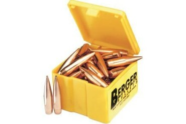 Berger Bullets .22 Cal 90gr VLD Target - Pack of 100