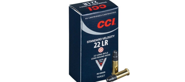 CCI .22LR 40gr Standard Velocity, LRN 50rds
