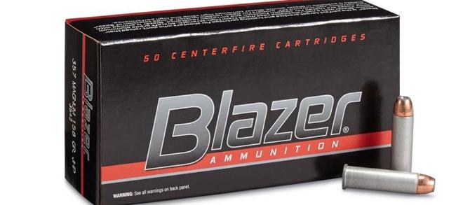 CCI Blazer .357 Magnum 158 Grain JHP – Box Of 50