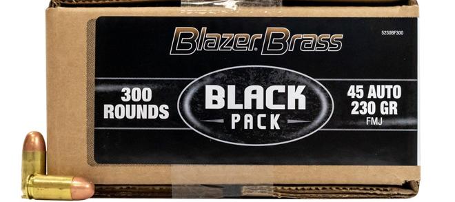 CCI Blazer Brass Black Pack 45 ACP 230gr 300RDS