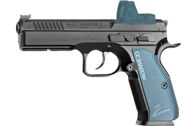 CZ 75 SHADOW 2 OPTIC READY 9x19MM BLUE-BLACK rangeview sports canada