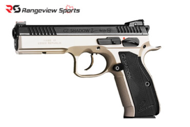 CZ-75 SP-01 Shadow 2 Pistol 9x19mm Luger Urban Grey rangeviewsports canada