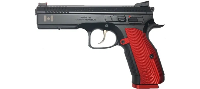CZ Shadow 2 Canada Limited Edition Pistol, Semi-Auto 9X19mm, 5- Barrel Rangeview sports Canada