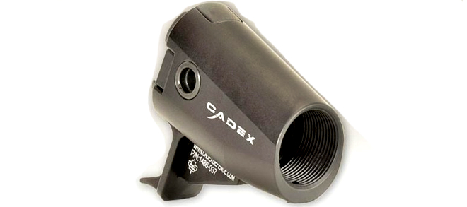 Cadex Defense Shotgun Fixed Butt Adaptor