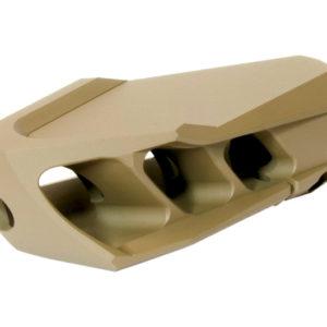 cadex-precision-rifle-mx1-muzzle-brake-m18x1-threads-in-fde-rangeview-sports-canada-licensed-gun-retailer-in-newmarket-ontario-canada