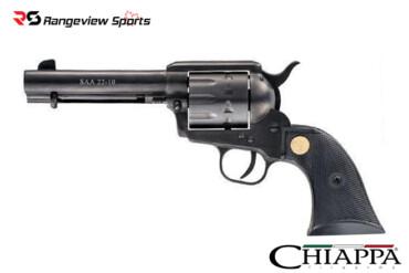 Chiappa 1873 SAA 22-10 Revolver .22LR 4.75″, Black, Restricted Rangeviewsports Canada