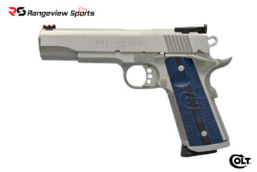 Colt 1911 .45ACP Government Model Stainless Gold Cup Trophy Pistol Rangeviewsports Canada