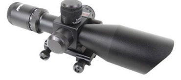 Firefield Riflescope with Red Laser 2.5-10x40