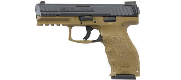 Heckler & Koch SFP9-SF (VP9) 9mm Pistol FDE
