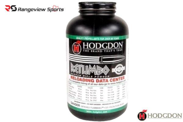 Hodgdon Retumbo Smokeless Powder – 1lb Rangeviewsports Canada