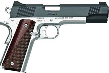 Kimber 1911 Custom II Two Tone .45 ACP, 5″ Barrel Pistol