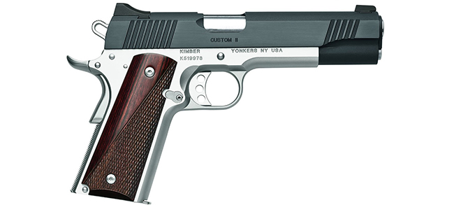 Kimber 1911 Custom II Two Tone .45 ACP, 5″ Barrel Pistol