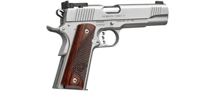 Kimber 1911 Stainless Target II Pistol - Rangeview Sports Canada