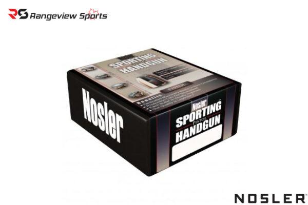 Nosler Sporting Handgun Pistol Bullets .45 cal .451″ 230 gr – 250ct Rangeviewsports Canada