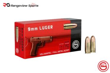 RUAG Geco 9x19mm Pistol Ammunition 124Gr FMJ 1181FPS – 1000Rds Rangeviewsports Canada copy