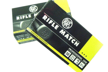 RWS Rifle Match .22 LR 40gr - Pack of 50 Rounds
