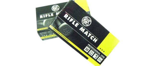 RWS Rifle Match .22 LR 40gr - Pack of 50 Rounds