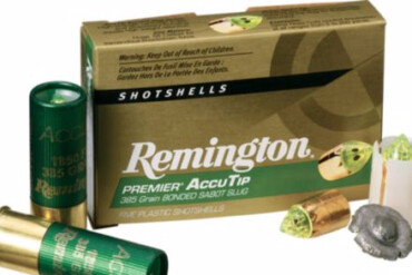 Remington AccuTip 12g 2-3/4″ 385gr Sabot Slug – Pack of 5 Shells