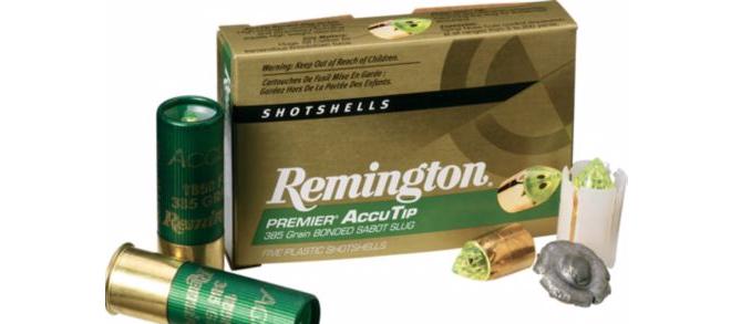 Remington AccuTip 12g 2-3/4″ 385gr Sabot Slug – Pack of 5 Shells