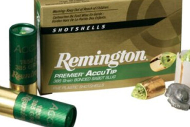 Remington AccuTip 20g 3″ 260gr Sabot Slug – Pack of 5 Shells