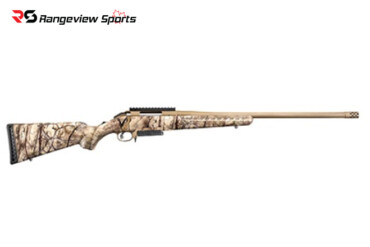 Ruger American Bolt-Action Rifle w: Go Wild Camo in Various Calibers Rangeviewsports Canada