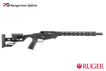 Ruger Precision Rimfire Rifle, 18″ Barrel, .22LR Bolt Action – Black RangeviewSports Canada--