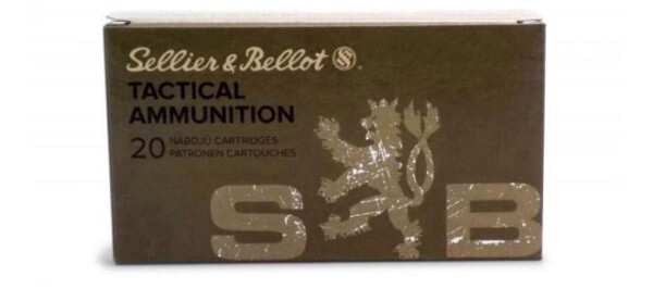 Sellier & Bellot Tactical Ammunition 6.5 Creedmoore 140grs FMJ 20RDS/Pack