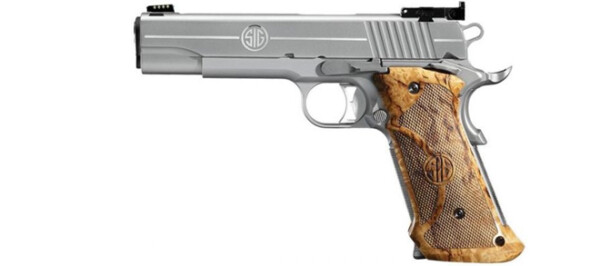 Sig Sauer 1911 Super Target Stainless .45 ACP