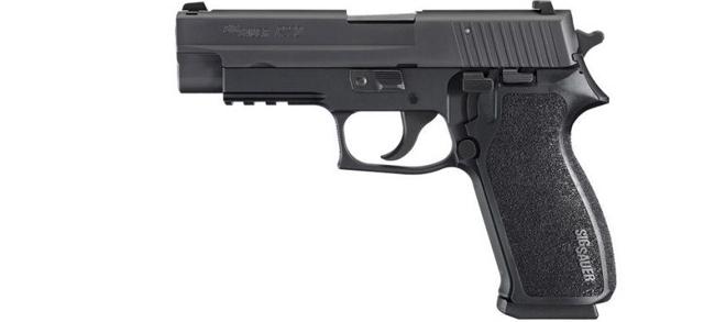 """Sig Sauer P220 Semi-Auto .45 ACP, 4.4""""BL Nitron Black"""