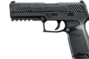 Sig Sauer P320 w/ CONTRAST SIGHTS 9mm LUGER - BLK