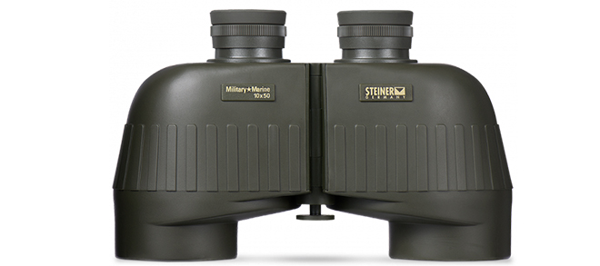 Steiner Military Marine 10x50 Binoculars - OD Green