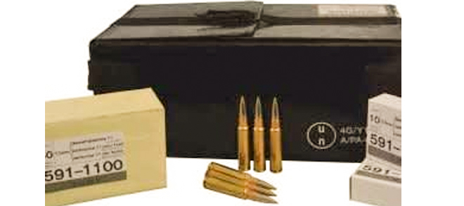 Swiss GP11 7.5X55 Case of 480rds