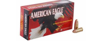 American Eagle 9mm Luger 147gr FMJ FP – Case Of 1000 Rounds