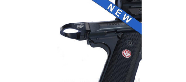"TandemKross ""Halo"" Charging Ring Ruger MKIII, MKIV & 22/45 - Black"
