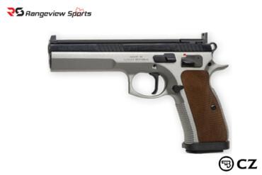 CZ75 Tactical Sport, 9mm, Dual Tone Rangeviewsports Canada