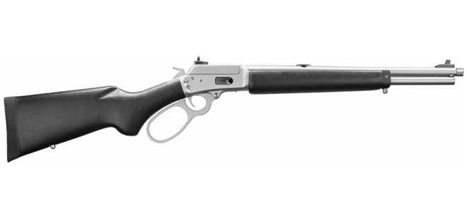 Marlin 1894CST Lever Action Rifle, SS, Big Loop, 357mag/38spl