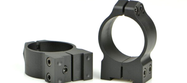Warne Maxima 1″ Medium Matte Scope Rings 1B1M for CZ 527 Fixed