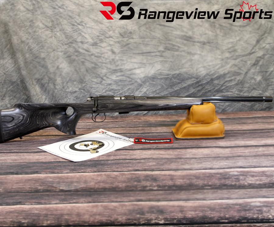 CZ 455 Thumbhole Grey  22LR - Rangeview Sports Canada