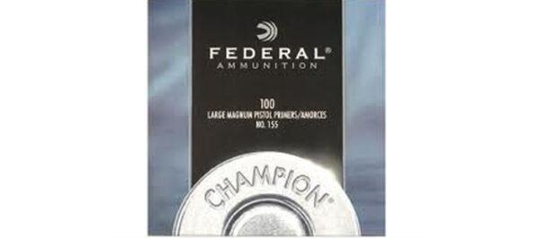 Federal Large Magnum Pistol Primers NO 155 1000pk
