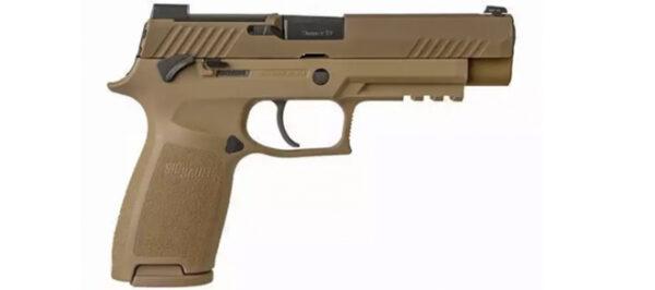 "Sig Sauer P320-M17, 9mm Luger, 4.7"" Barrel, w/Manual Safety"