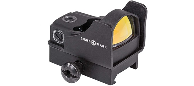 Sight Mark Mini Shot Pro Spec w/Riser Mount - Red