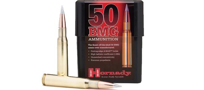 Hornady 50 BMG,750 Gr, A-Max, 10Rds/Box