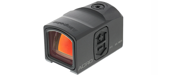 Aimpoint Acro P-1,3.5 MOA, Key Dovetail Interface NVD Compatible