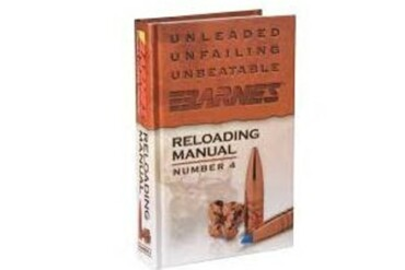 Barnes Reloading Manual #4