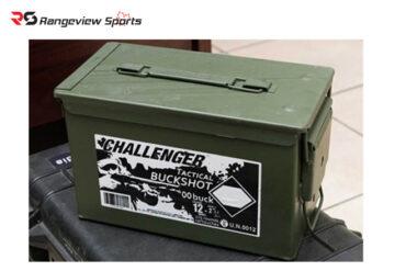 Challenger Tactical Buckshot, 12ga 2 3-4″ #00 Buckshot 9Pellets 1350FPS – 175Rds rangeviewsports canada